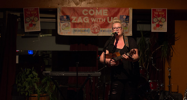 Elizabeth Webb @ The Pizza Shoppe Collective | 9.4.15 | Benson Femme Fest