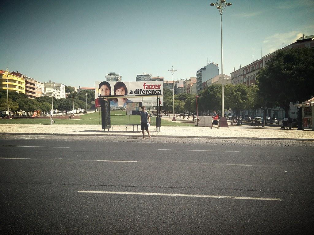 Alameda, feudo esquerdóide, Lisboa — (c) 2015