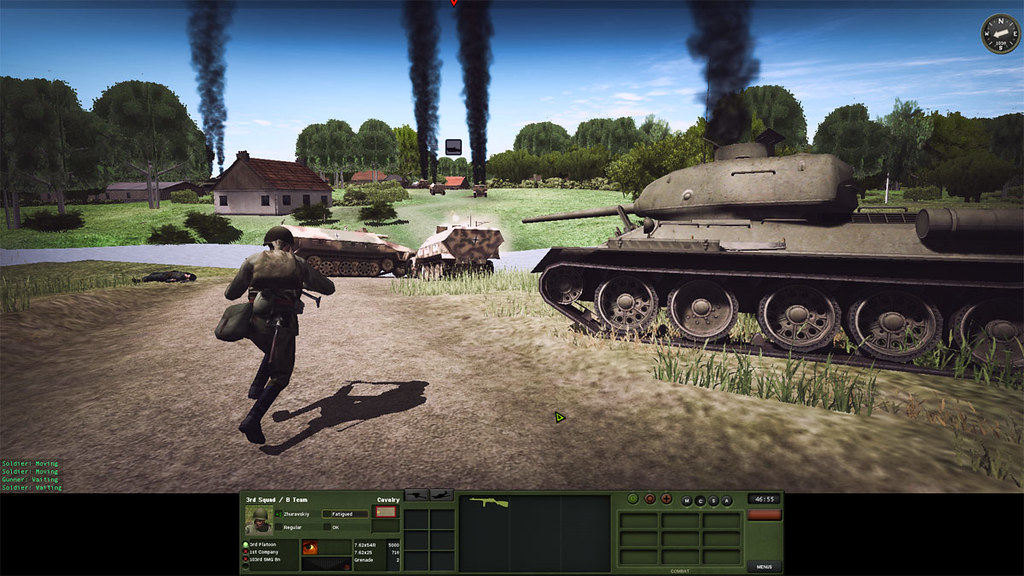 5_Combat_Mission_Red_Thunder_War_Movie_ADVANCED_mode