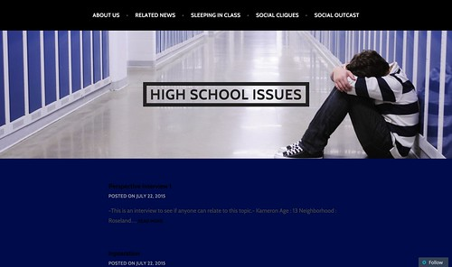 High School Issues   Issues To Face In High School