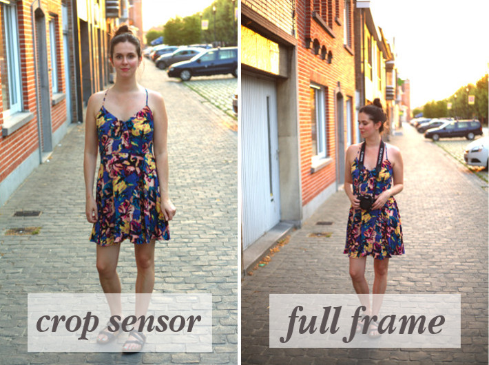The difference between crop sensor and full frame photography