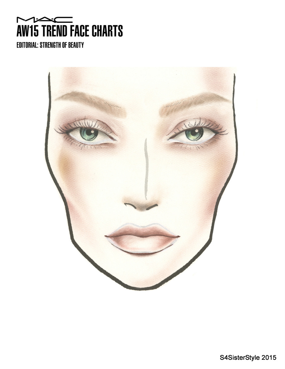 AW15 TREND FACE CHARTS_EDITORIAL_STRENGTH OF BEAUTY