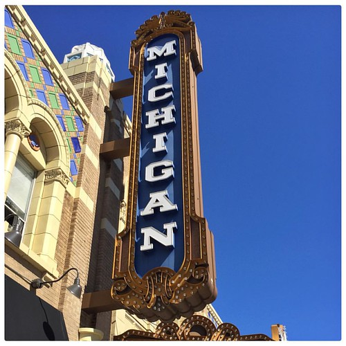 The Michigan Theater. #annarbor #Michigan #theater