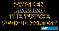 Announcing the BrickArms Forums Awaken the Force Vehicle Contest by enigmabadger