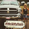 """""""I fell in love with this truck the second I drove it off the lot in 2003. Anyone who knows me knows that this truck is my whole life."""" – Ashley F. #MeAndMyRam - photo from ramtrucks by fieldscjdr"""
