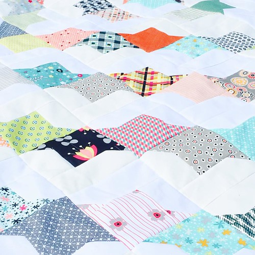 for the first time in forever, i finished a quilt top! «full reveal coming soon!» #rachelgriffithdesigns