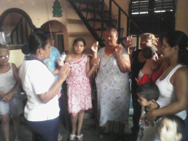 Casas de Oración: Estado Trujillo, 13-09-15