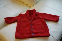 Classic baby cardigan