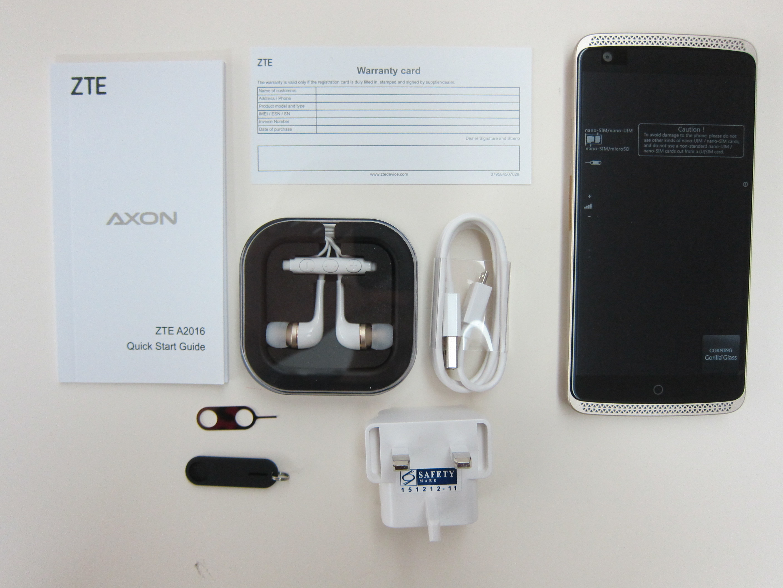 not getting zte axon mini phone into