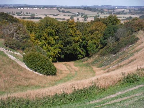 Valley in Sundon Hills