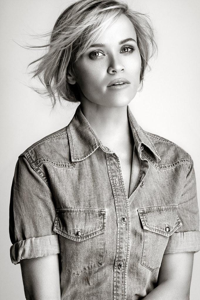 Риз Уизерспун — Фотосессия для «Elle» 2015 – 1