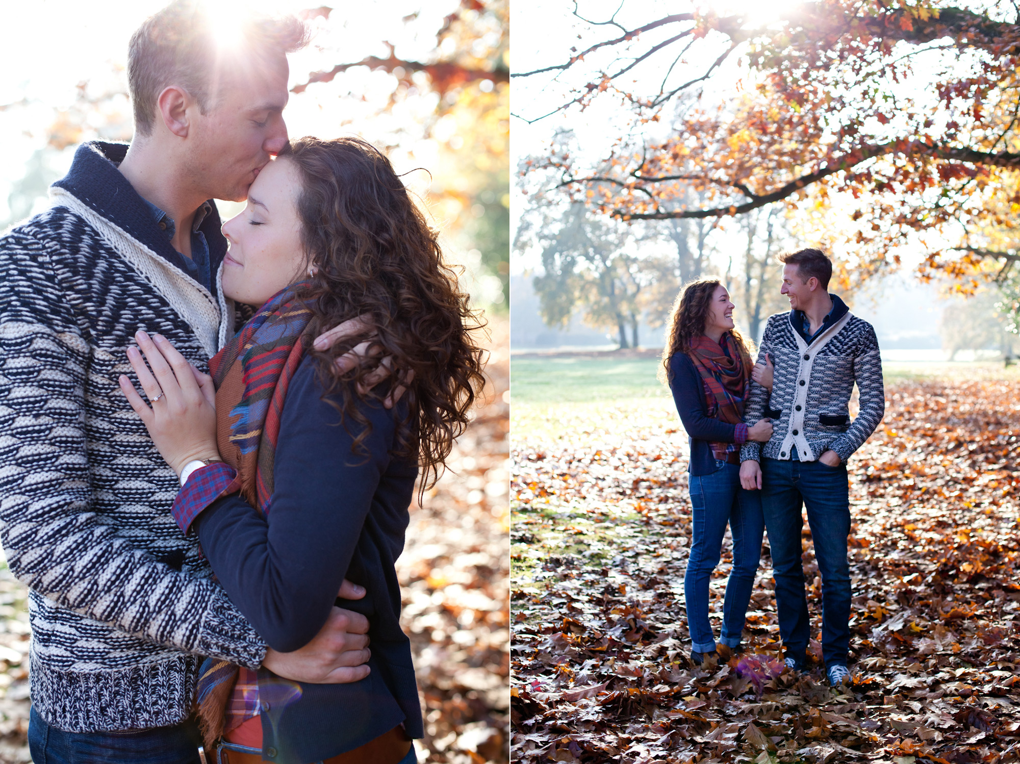 Julie & Jordy, engaged by Kelly Steenlandt