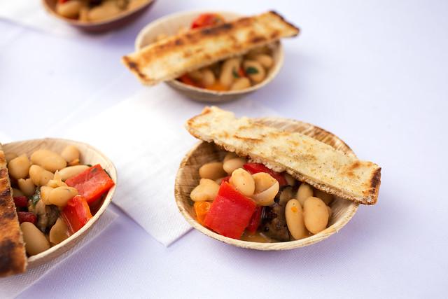 Grilled Sausage and White Bean Ragu - Via 45