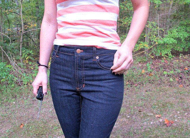 Cone Mills Ginger Jeans - front