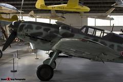 Red 3 - 163306 - Luftwaffe - Messerschmitt Bf109 G-6 - Polish Aviation Musuem - Krakow, Poland - 151010 - Steven Gray - IMG_9987