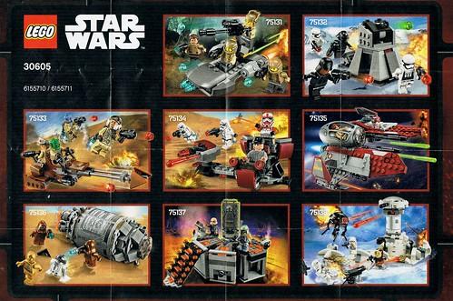 LEGO Star Wars 2016 Leaflet