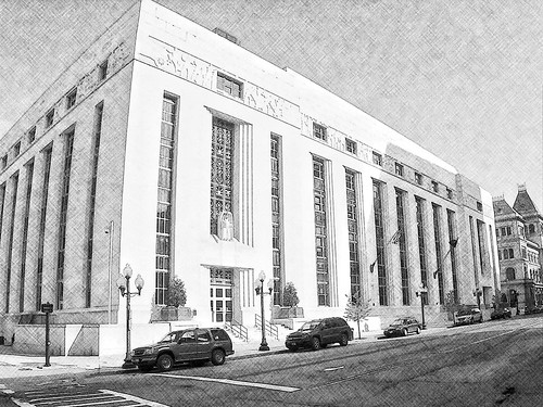 Albany New York ~ James T. Foley United States Courthouse ~ Historic Building