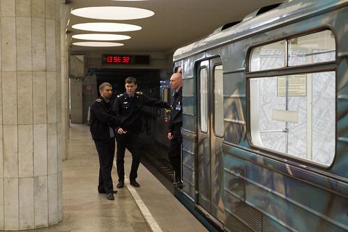 Налинии Московского метро выйдет новый поезд «Москва»