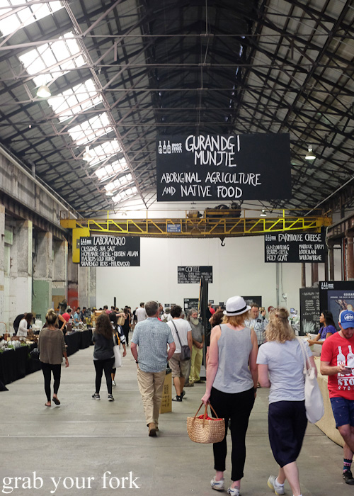 "Gurandgi Munjie ""Food of the People"" Aboriginal Culture and Native Food Pavilion at Rootstock Sydney 2015"