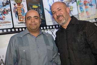 Omar de la Cruz y  Rubén Abud. Premios La Silla.