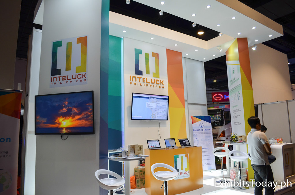 Inteluck Corporation Philippines Exhibit Booth
