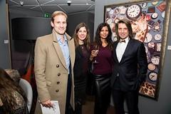 Samir Ceric, Alexandra D. Foster and guests
