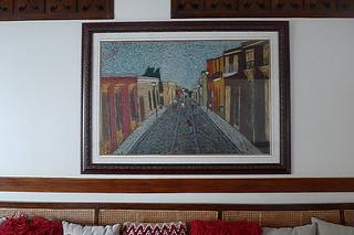 Vigan - Hotel Veneto art work hallway