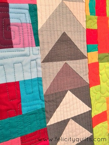 Flying South quilting