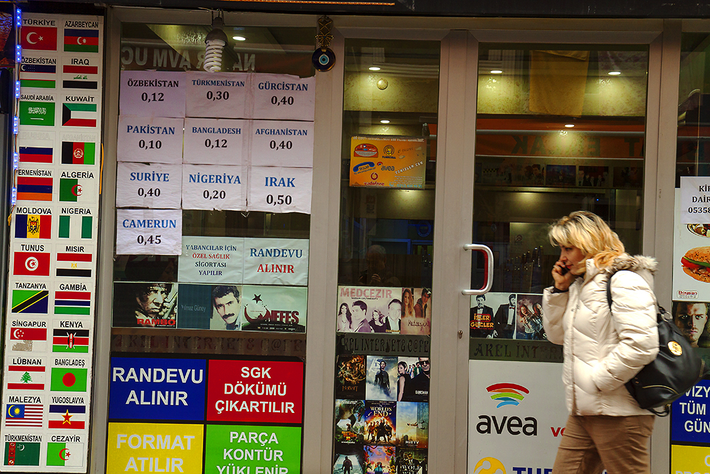 Call center in Kumkapi--Istanbul 2