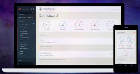 Task Rocket v2.3 - Front-End Project Management Theme For WordPress