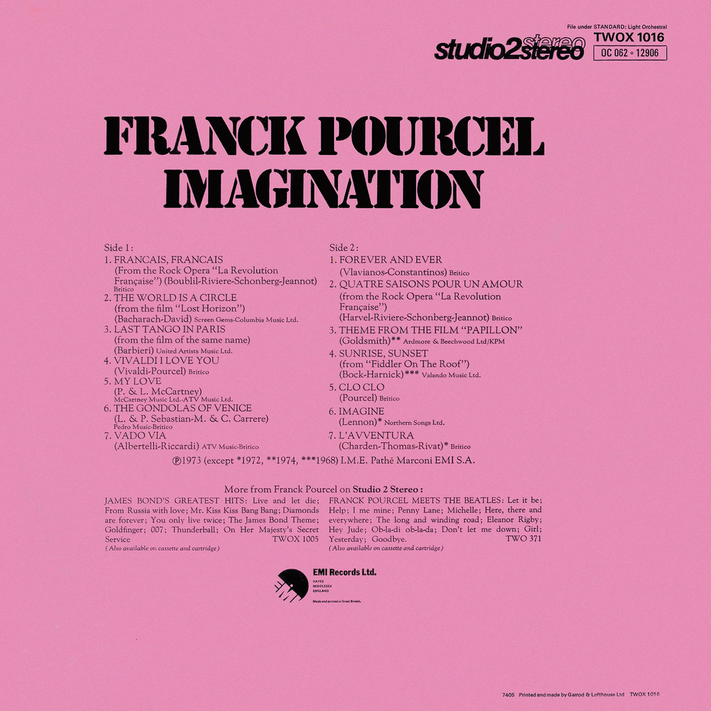 Franck Pourcel - Imagination