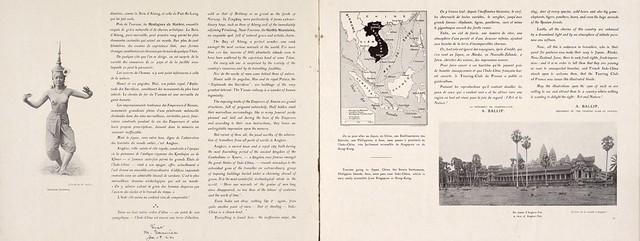 Indo-Chine Franc̜aise (3) - Brochure quảng bá du lịch Đông Dương