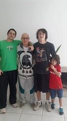 Mauro e os meninos. .domingo em família …tudo de bom…