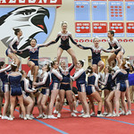 LEHS Varsity Cheer at 4A State Qualifier 11-8-16