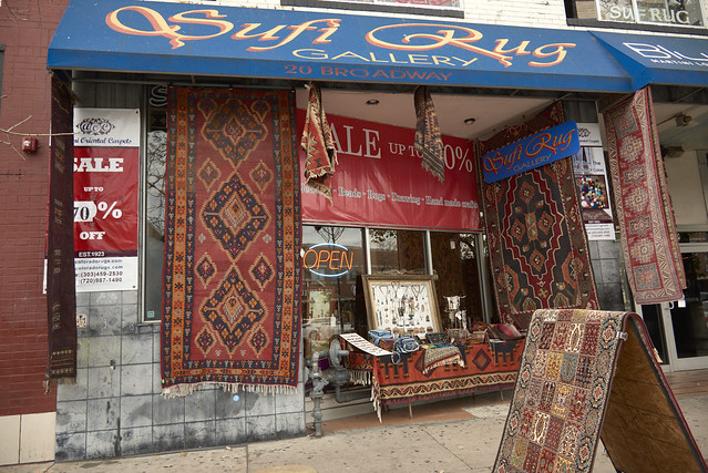 Sufi Rug Gallery Store Front