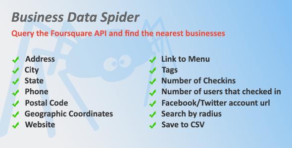 Business Data Spider v1.02
