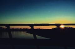 #sunset #river #autostrada #ontheroad #streets #colours #sun #sky #skyline #subhanAllah #awesome_shots #italiainunoscatto #Italy #ig_street #ig_worldclub #samsung #statigram #instamoment