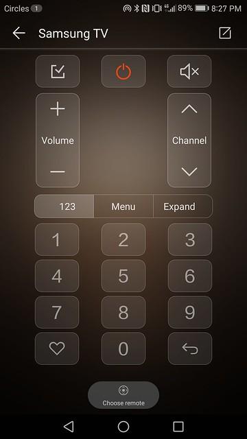 Huawei Mate 9 - EMUI 5.0 - Smart Controller App