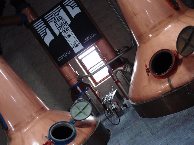 Stills at Glengyle distillery