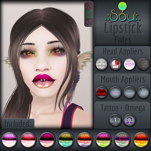 2015 Lipstick - Fades