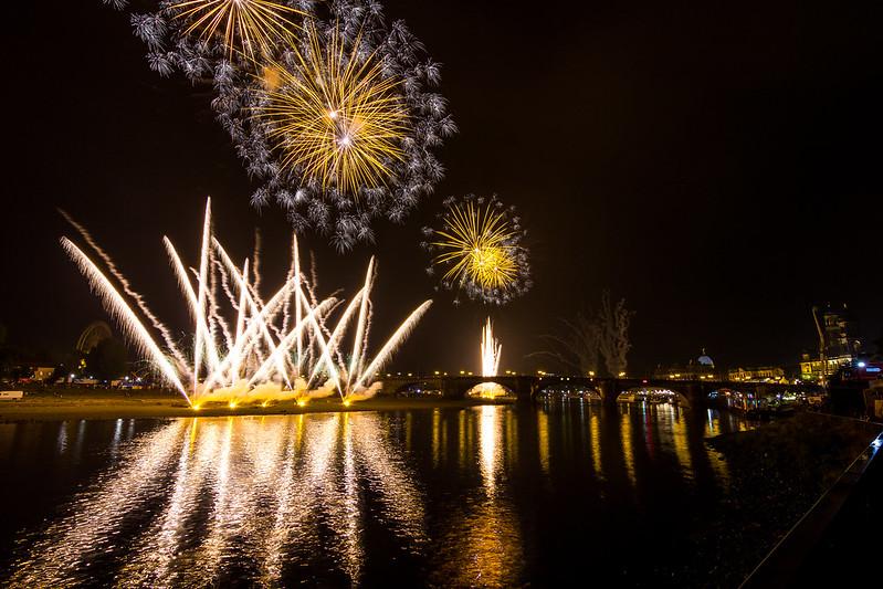 Fireworks Dresden 2015