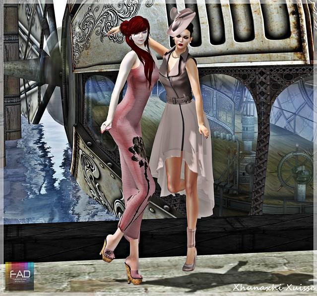 {FAD Fashion Event} Vintage Haze -Wicca's Wardrobe + SAGE +  SG  + Glamrus- (1)