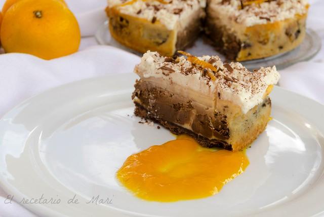 Tarta marmolada chocolate y naranja 2