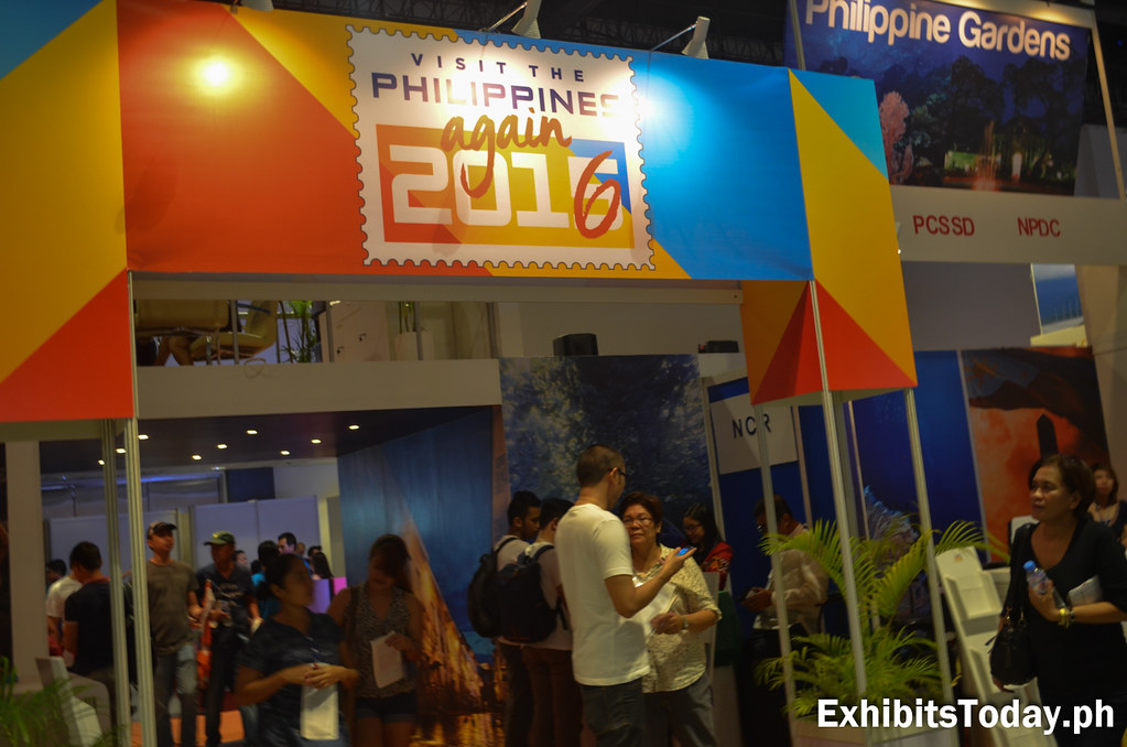 Tourism of the Philippines Board Entrance Pavilion
