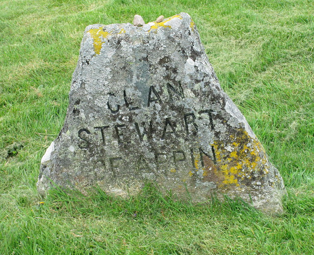 Culloden; Graves of Clan Stewart of Appin