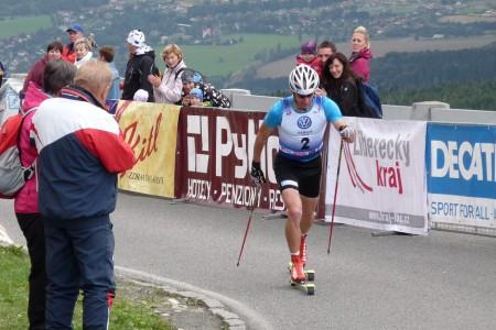 Mistrovství ČR v běhu na kolečkových lyžích očima Lukáše Bauera