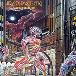 "IRON MAIDEN SOMEWHERE IN TIME France 12"" LP"