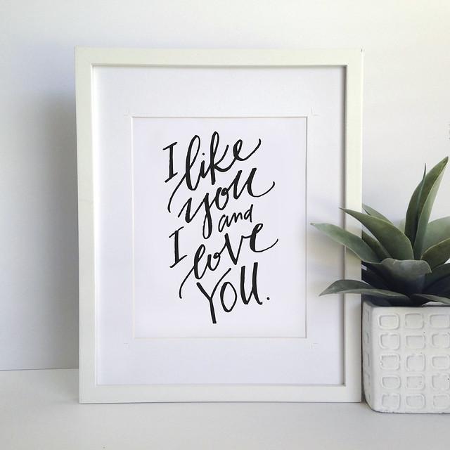 like you love you