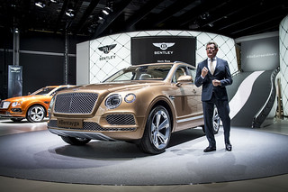 Bentley-k Frankfurtban - 2015 IAA