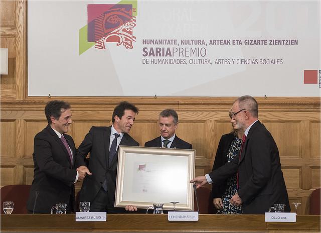 Eusko Ikaskuntza - Laboral Kutxa Saria (2015.10.13)